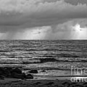 Seaside Rainstorm 2 Poster