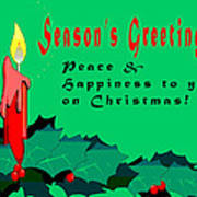 Seasons Greeting Poster