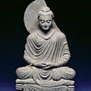 Seated Buddha Poster