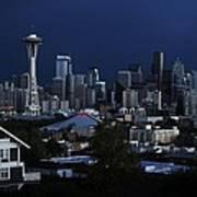 Seattle Blues Poster