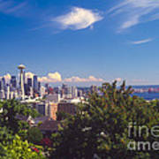 Seattle From Queen Anne Hill Poster