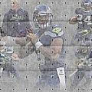 Seattle Seahawks Team Poster