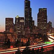 Seattle Traffic Poster