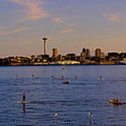 Seattle Waterfront 2 Poster