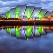 Secc Glasgow Scotland Poster