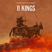 Second Kings Books Of The Bible Series Old Testament Minimal Poster Art Number 12 Poster