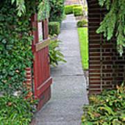 Secret Garden Door Poster