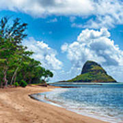 Secret Island Beach And Chinaman's Hat Poster