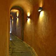 Secret Passageway In Lyon France Poster