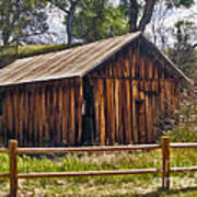 Sedona Arizona Old Barn Poster