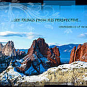 See Things From His Perspective Poster by Bruce Hamel