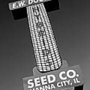 Seed Company Sign 1.1 Poster