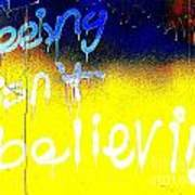 Seeing Isn't Believing Poster