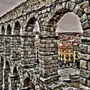 Segovia Aqueduct - Spain Poster
