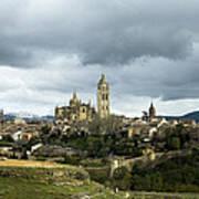 Segovia Surrounded Poster