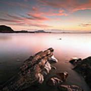 Seil Island Sunset Poster