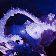 Selenite Crystal Poster by Kenan Sipilovic