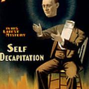 Self Decapitation Poster