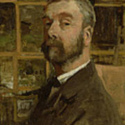 Self Portrait, C.1884 Poster