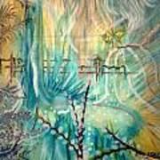 Selva Sfumato Poster by Adriana Garces