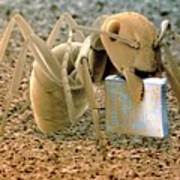 Sem Of Ant Holding A Microchip Poster