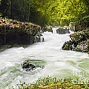 Semuch Champey Waterfalls Poster