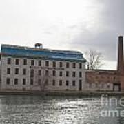 Seneca Falls Knitting Mill Poster