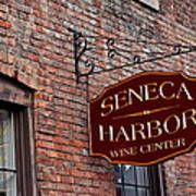 Seneca Harbor Wine Center Poster