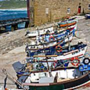 Sennen Cove Fishing Fleet Poster