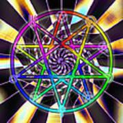 Sense Creation Five Poster by Derek Gedney