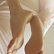 Sensual Feet Poster by Tos