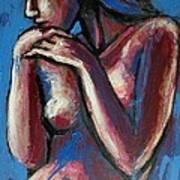 Sentimental Mood- Female Nude Poster