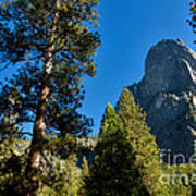 Sentinel Dome, Yosemite Np Poster