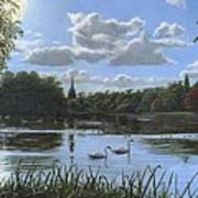 September Afternoon In Clumber Park Poster