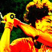 Serena Williams In A Zone Poster