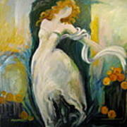 Serene Dancer Poster