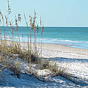 Serene Florida Beach Scene Poster