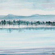 Serene Lake View Poster