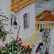 Serene Villa Poster