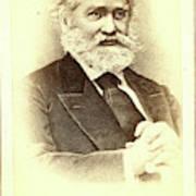 Sergei Mikhailovich Solovev, Half-length Portrait Poster