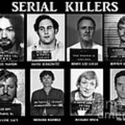 Serial Killers - Public Enemies Poster