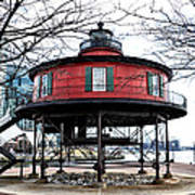 Seven Foot Knoll Lighthouse - Baltimore Poster
