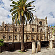 Seville Cathedral In Spain Poster