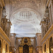 Seville Cathedral Interior Poster