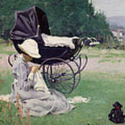 Sewing In The Sun, 1913 Poster