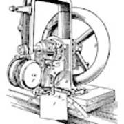 Sewing Machine, 1846 Poster