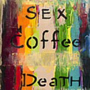 Sexcoffeedeath Poster