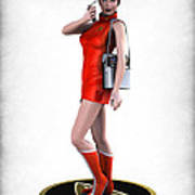 Sexy Trekkey Poster by Frederico Borges