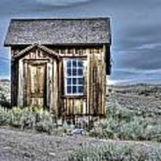 Shack At Bodie Poster