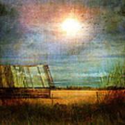 Shack On The Prairie Corner  Poster